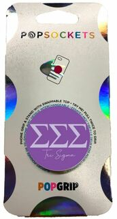 Sigma Sigma Sigma 2-Color PopSocket