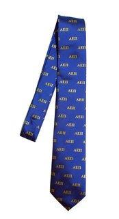 Alpha Epsilon Pi Lettered Woven Necktie