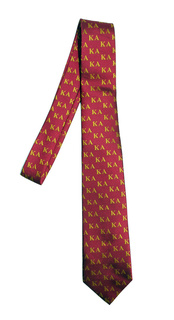 Kappa Alpha Lettered Woven Necktie