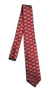 Theta Chi Lettered Woven Necktie