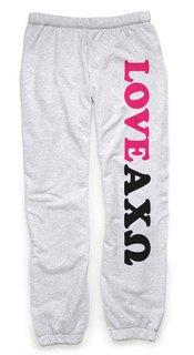 Alpha Chi Omega Love Sweatpants