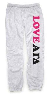 Alpha Gamma Delta Love Sweatpants