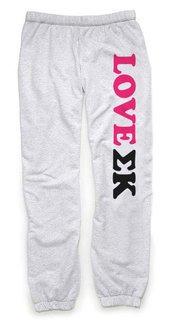 Sigma Kappa Love Sweatpants