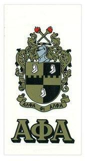 Alpha Phi Alpha Crest - Shield Decal