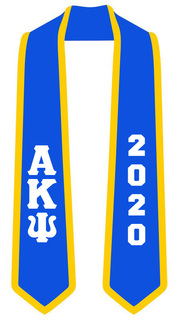 Brand New Product! Alpha Kappa Psi Letter Design Tie