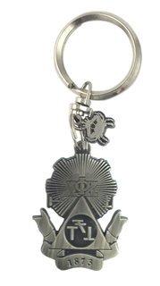 Phi Sigma Kappa Alloy Keychains