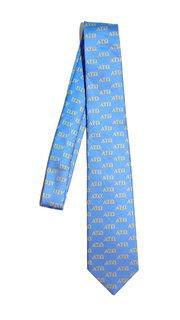 Alpha Tau Omega Lettered Woven Necktie