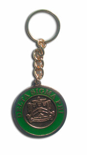 Metal Fraternity Key Chain
