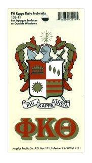 Phi Kappa Theta Crest - Shield Decal
