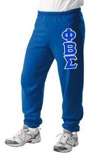 Phi Beta Sigma Lettered Sweatpants