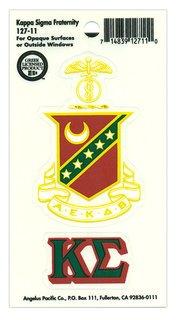 Kappa Sigma Crest - Shield Decal