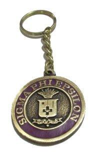 Sigma Phi Epsilon Metal Fraternity Key Chain