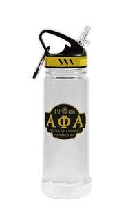 Alpha Phi Alpha Water Bottle W/Carabiner Hook