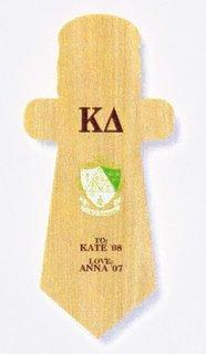 Kappa Delta Paddle / Plaque