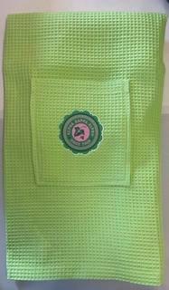 The New Super Savings - Alpha Kappa Alpha Seal Towel Wrap - GREEN 1 of 3