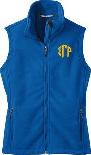 Sigma Gamma Rho Fleece Vest