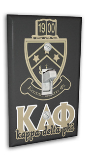 Kappa Delta Phi Light Switch Cover
