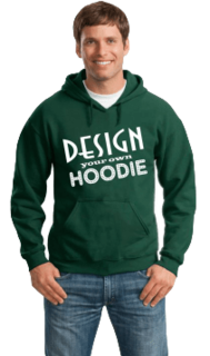 Design Your Own Hooded Sweatshirt
