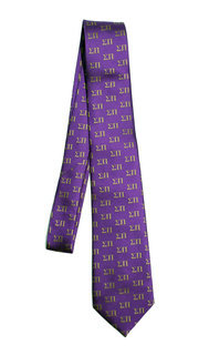 Sigma Pi Lettered Woven Necktie
