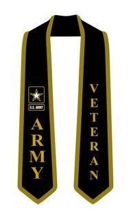 US Army Graduation 2 Tone Sash Stole