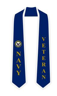 US Navy Graduation 2 Tone Sash Stole