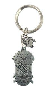 Phi Beta Sigma Alloy Keychains