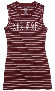Sigma Kappa Striped Tee Dress