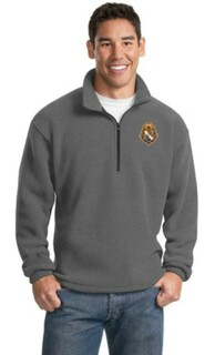 Alpha Phi Omega Crest Patch 1/4 Zip Pullover