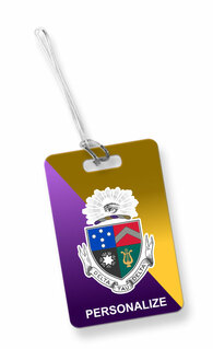 Delta Tau Delta Luggage Tag
