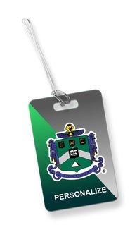 Delta Sigma Phi Luggage Tag