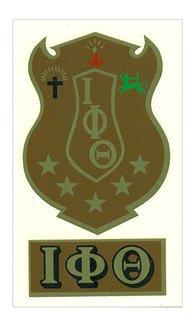 Iota Phi Theta Crest - Shield Decal
