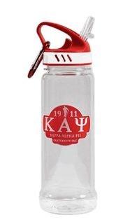 Kappa Alpha Psi Water Bottle W/Carabiner Hook