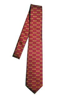 Phi Kappa Theta Lettered Woven Necktie