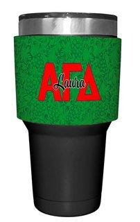 Alpha Gamma Delta Yeti Rambler Bottle Insulator