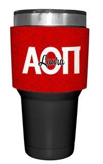 Alpha Omicron Pi Yeti Rambler Bottle Insulator