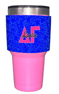 Delta Gamma Yeti Rambler Bottle Insulator