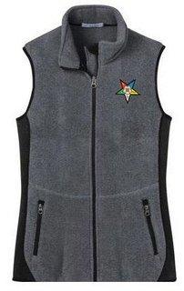 DISCOUNT-OES Ladies Ladies Pro Fleece Full-Zip Vest