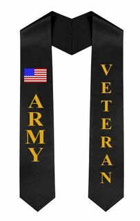 Army Graduation Sash Stole