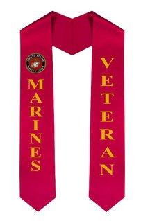 USMC (Marine Corp) Graduation Sash Stole