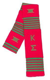 Kappa Sigma Kente Graduation Stole