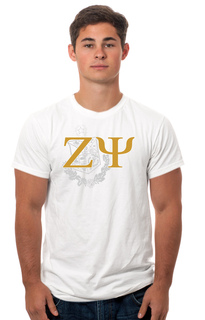 Zeta Psi Crest - Shield Tee