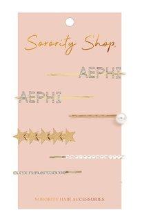 Alpha Epsilon Phi Hair Clips