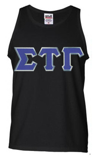 DISCOUNT- Sigma Tau Gamma Lettered Tank Top