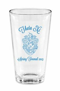 Fraternity & Sorority Mixing Glasses