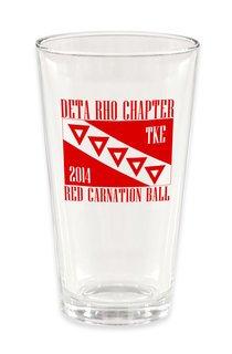 Tau Kappa Epsilon Custom Mixing Glass #1