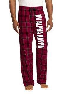 Nu Alpha Kappa Pajamas Flannel Pant