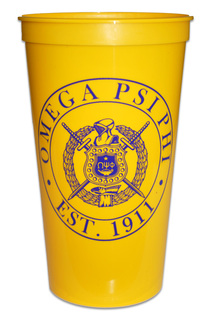 Omega Psi Phi Big Plastic Stadium Cup