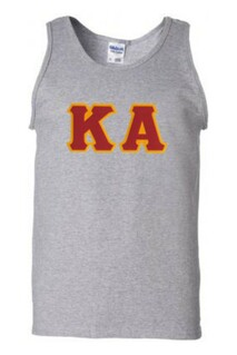 DISCOUNT- Kappa Alpha Lettered Tank Top