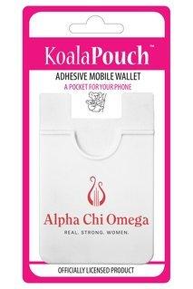 Alpha Chi Omega Logo Koala Pouch
