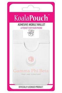 Gamma Phi Beta Logo Koala Pouch